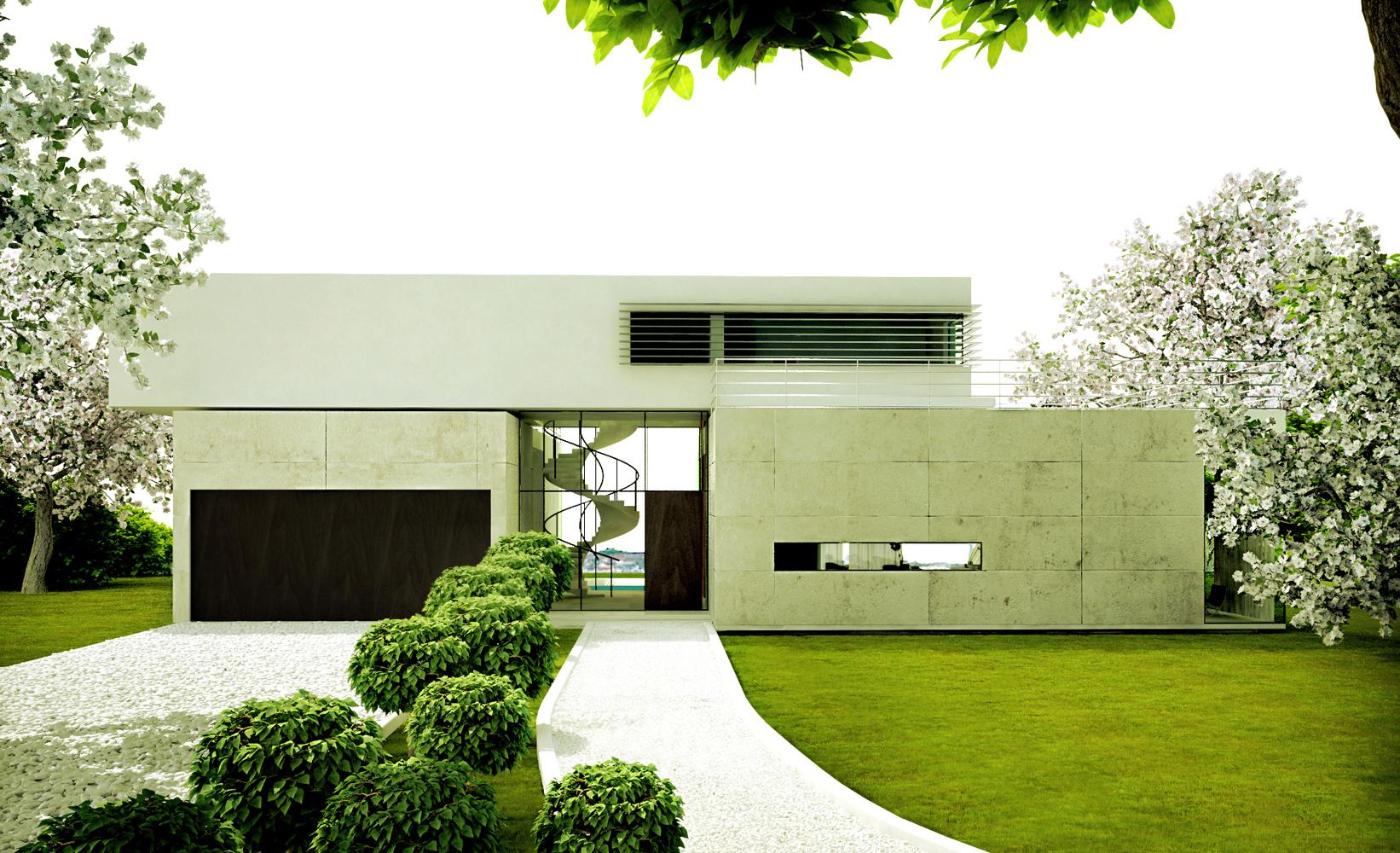 Villa S-entrance